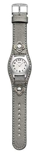 Kipling Captain grau Metallic girlK9400276 Armbanduhr Analog Leder grau