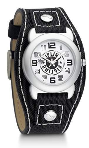 Kipling Captain Boy Quarz-Uhr mit Silber Zifferblatt Analog-Anzeige und schwarz Nylon Gurt k9400381