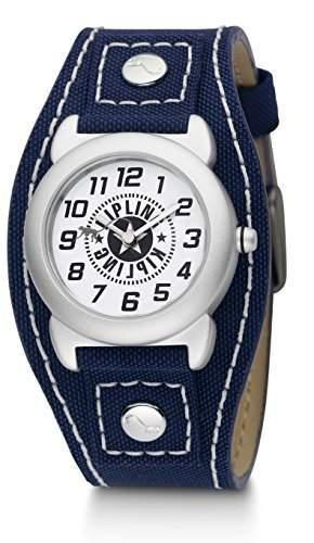 Kipling Jungen-Armbanduhr Captain Analog Nylon Blau K9400382