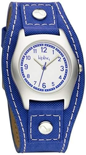 Kipling Captain, blau boyAnalog Quarz nylon blau, K9400398
