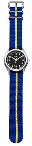 Kipling boy-Blau Vintage Stripe boyArmbanduhr PH4900-C-PH01T Analog Textil Zehensteg K9400491 Blau