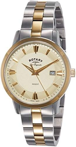 Rotary Watches Herren-Armbanduhr Ocean Avenger Analog Quarz Edelstahl beschichtet GB0269504