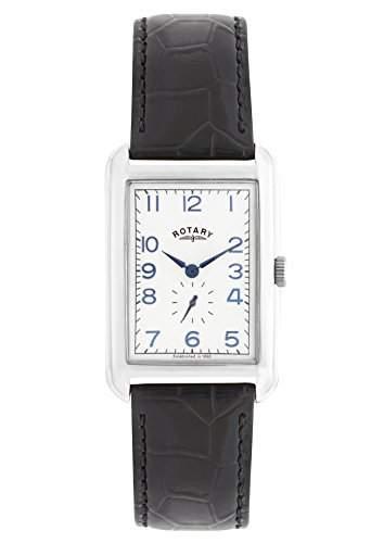 Rotary Watches Herren-Armbanduhr Portland Analog Quarz Leder GS0269721