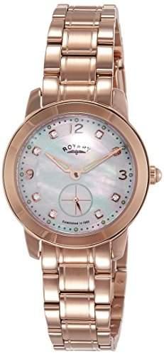 Rotary Watches Herren-Armbanduhr Cambridge Analog Quarz Leder GS0270201