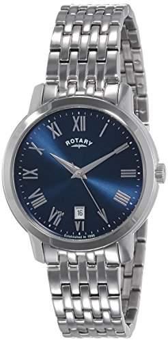 Rotary Herren-Armbanduhr Chronograph Quarz Leder GS0287904