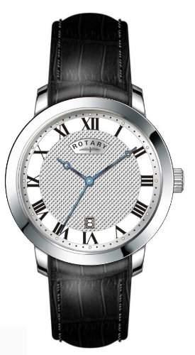 Rotary Herren-Armbanduhr XL Analog Leder GS4282501