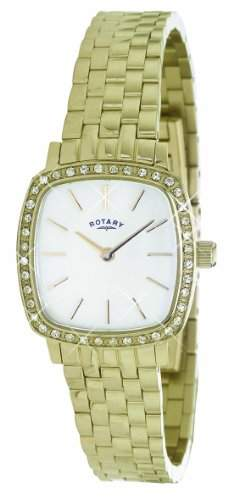 Rotary Damen-Armbanduhr XS Analog Quarz Edelstahl beschichtet LB0240540
