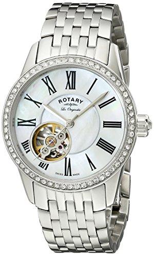 Rotary Damen Armbanduhr Analog Automatik LB90510 41