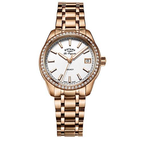 Rotary Damen Armbanduhr Legacy Analog Quarz LB90176 01
