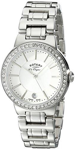 Rotary Damen Armbanduhr Lucerne Analog Quarz LB90081 02L