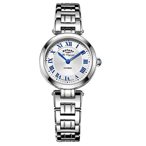 Rotary Damen Armbanduhr Lucerne Analog Quarz LB90186 01