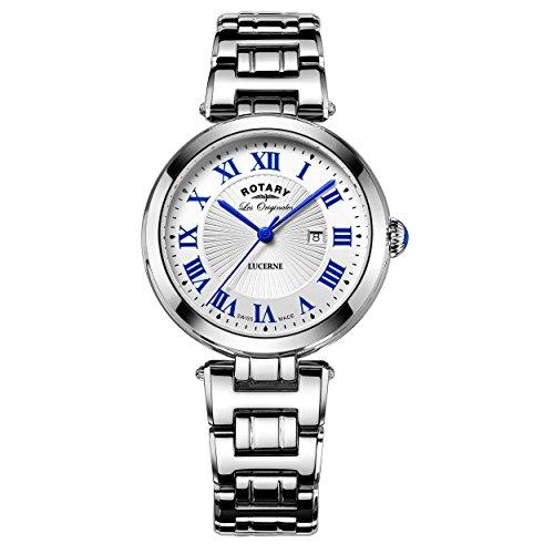 Rotary Damen Armbanduhr Lucerne Analog Quarz LB90186 01 L