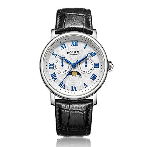 Rotary GS00341 21 Herren Armbanduhr Chronograph Quarz Leder