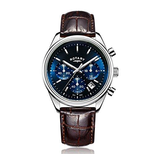 Rotary GS00350 05 Chronograph Quarz Leder