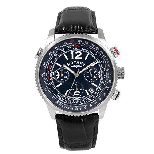 Rotary Herren Armbanduhr Chronograph Quarz GS00323 05