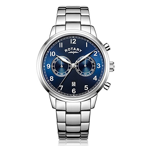 Rotary Chronograph Quarz Edelstahl GB00338 05