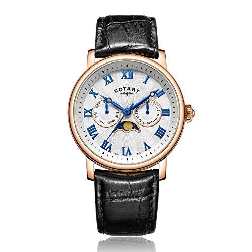 Rotary Chronograph Quarz Leder GS00340 21