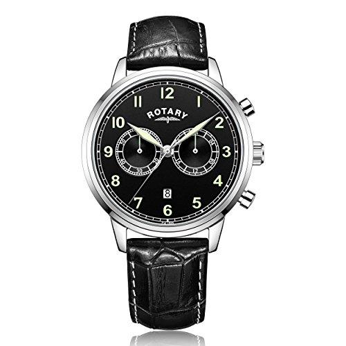 Rotary Chronograph Quarz Leder GS00338 19