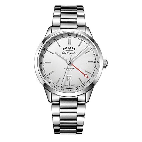 Rotary Herren Armbanduhr Tradition Analog Quarz GB90181 32