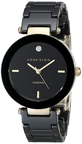 Anne Klein AK-1018BKBK Damen Uhr