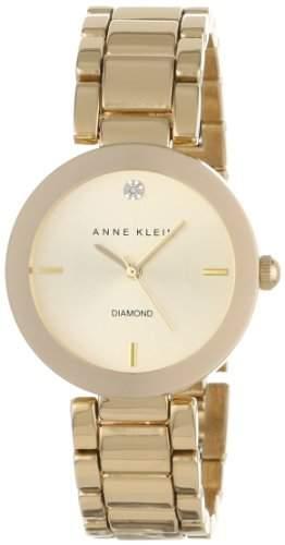 Anne Klein AK-1362CHGB Damen Uhr