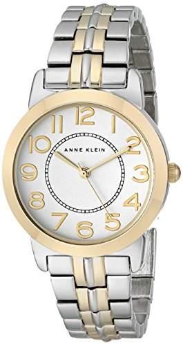 Anne Klein Damen AK1791svtt einfach Lesen bicolor Armband Armbanduhr