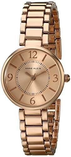 Anne Klein Damen AK1870rgrg Rose goldfarbene Armband Armbanduhr