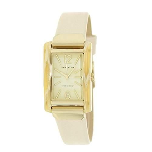 Anne Klein WomenQuarz-Uhr mit weissem Zifferblatt Analog-Anzeige und Rosé Gold Edelstahl ArmbandAK N1074WTRG