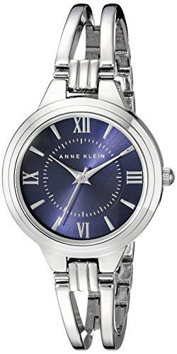 Anne Klein Damen AK 1441blsv Analog Display Japanisches Quartz Silber Uhr