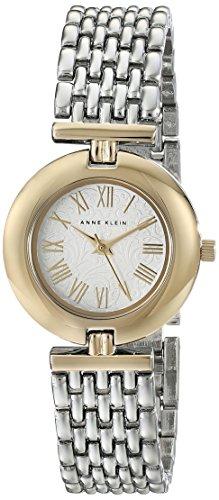 Anne Klein Damen AK 1945svtt Two Tone Uhr mit verstellbar LINK Armband