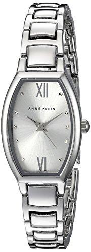 Anne Klein Damen AK 2039svsv silberfarbenes Armband Armbanduhr