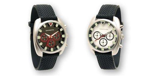 Armbanduhr DAKOTA schwarz Herren