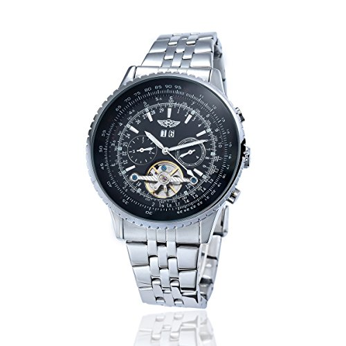 YAKI Herren Armbanduhr Mechanische Automatikuhr Automatik Armbanduhr Herrenuhr 1220 B