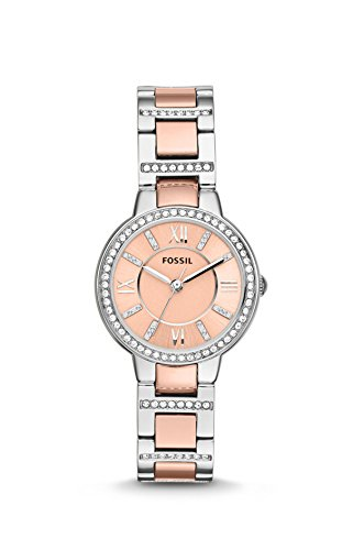 Fossil Virginia Damen Armbanduhr ES3405