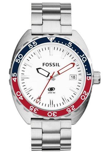 Fossil Breaker Analog Quarz Edelstahl FS5049