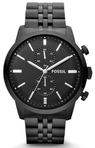 Fossil Herrenuhr Townsman Schwarz FS4787