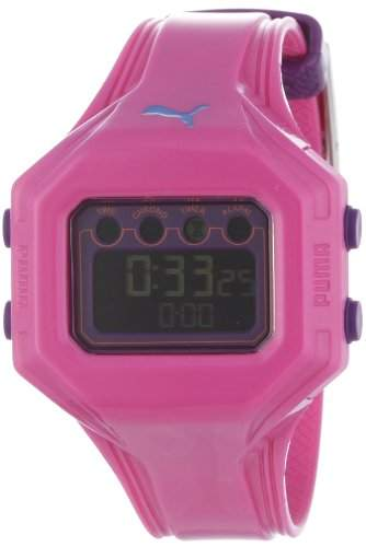 Puma Time Active Damen-Armbanduhr Digital Bounce- S Pink Quarz APU910772005