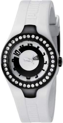 Puma Time Damen-Armbanduhr XS Dynamic Posh Analog Quarz Plastik PU101122002