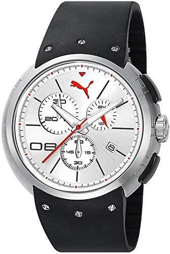 Puma Time Herren-Armbanduhr Hero - L Chronograph Quarz Plastik PU102671003