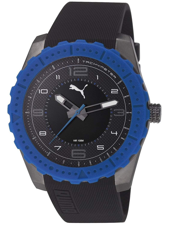 Puma Herren-Armbanduhr XL Cross Analog Quarz Resin PU103091004