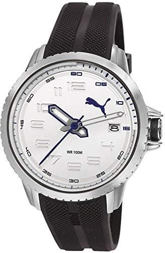 Puma Time Herren-Armbanduhr Turbine 3Hd Analog Quarz Plastik PU103281005