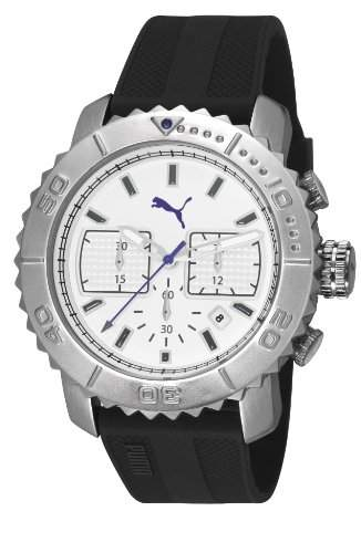 Puma Herren-Armbanduhr XL Gallant Chronograph Quarz Plastik PU103561002