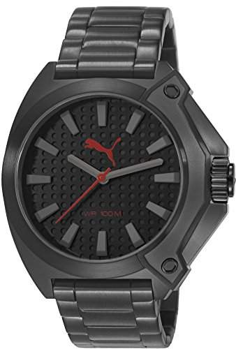 Puma Time Herren-Armbanduhr Zone Analog Quarz Edelstahl PU103811004
