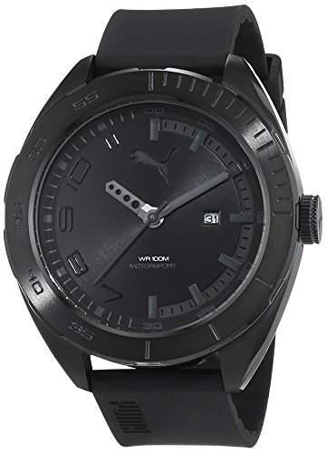 Puma Time Herren-Armbanduhr Octane II Analog Quarz Plastik PU103951003