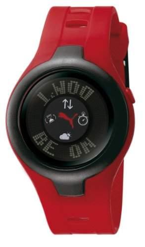 Puma Herren-Armbanduhr XL Digital Plastik PU910211003