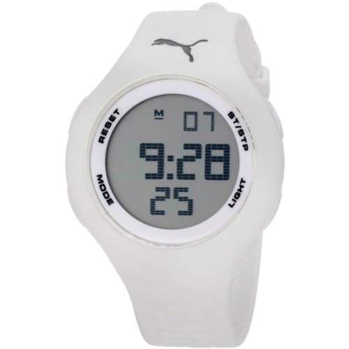 Puma Time Active Damen-Armbanduhr Digital Loop White Quarz APU910801010