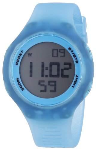 Puma Unisex-Armbanduhr Loop transparent Digital Quarz Plastik PU910801022