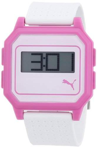 Puma Time Active Damen-Armbanduhr Flat Screen Digital Plastik APU910951006