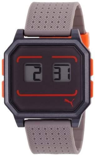Puma Time Damen-Armbanduhr Wrist robots black Digital Quarz Kautschuk PU910951013