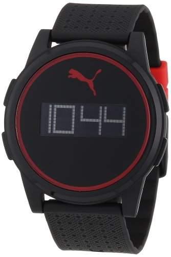 Puma Herren-Armbanduhr XL Digital Quarz Plastik APU910971006